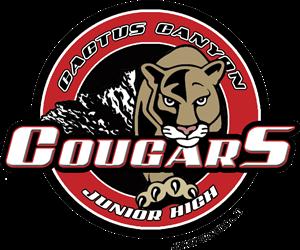 CCJH Cougar Logo